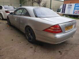 "Mercedes cl500 petrol spares or repairs 20""amg alloys"