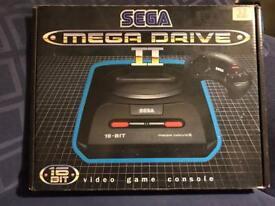 Sega Megadrive Boxed Console & Games