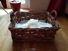 Basket (could be used for a hamper/picnic)
