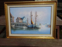 Oil Painting signed by Y Howard