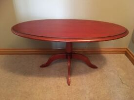 Genuine cherry wood oak table