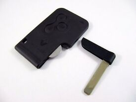 Replacement Renault Megane & Scenic Key Cards Eastwood - 07504 816795