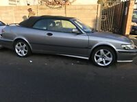 SAAB 9.3 CONVERTIBLE LONG MOT OCTOBER 2017 PX WELCOME