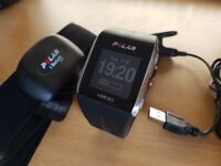 Polar v800 fitness multisport watch w/heart rate strap