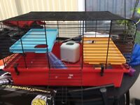 Levelled hamster cage