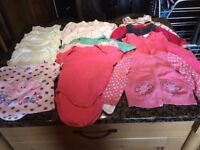 Bundle of girls' clothes for sale - 9-12 months, excellent condition, 17 items for just £5!