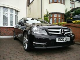 Mercedes AMG C250 Coupe 2.1CDI Black 2012 2-door