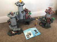 Playmobil dragon castle and dungeon