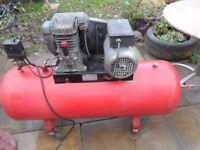Air Sealey Compressor, 150lt, 240v.