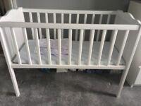 Unisex White crib