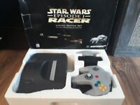 Boxed N64 Limited Edition Star Wars Episode 1 Racer