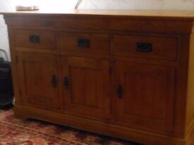 solid oak sideboard - Oakland French Rustic