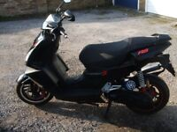 PEUGEOT SPEEDFIGHT 3 RS 50cc MOPED SCOOTER WITH 1 YEAR MOT