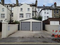 2 secure garages each with forecourts to rent, Central Hove