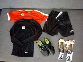 Football clothes bundle 9-10 yrs