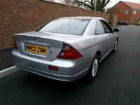 Auto Honda Civic Coupe Vtec - 52,000 Miles Only - Drives Great - 2 Owners - Leather Heated Seats