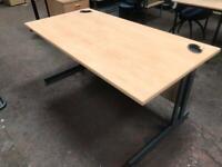 1600mm x 800mm Straight Office Desk