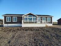 New Mobile home with .83 acres of land ST Malo MB