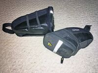 One Topeak and one generic saddle bag for Sale