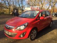 2014 VAUXHALL CORSA 18K MILES FINANCE AVAILABLE 3 MONTHS WARRANTY
