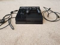 Playstation 4 (PS4) 1 TB with controller and cables