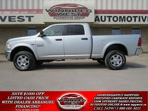 2016 Dodge Ram 2500 OUTDOORSMAN  4X4, HEMI V8, HEAVY DUTY GVW,LO
