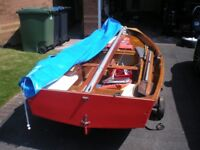 Mirror Dinghy No. 38219 sailing boat - fully refurbished hull with new sails & spars