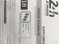 Le Mans 24 Hours Grandstand ticket - Tribune stand