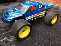 Xtm mammoth st 1/8 Scale Nitro rc truggy monster truck 50mph