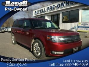 2014 Ford Flex SEL AWD  *Moonroof,Lthr,pLiftgate,7-P