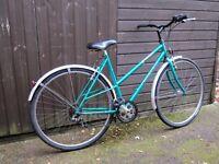 Ladies Raleigh 5 Speed Bicycle