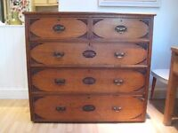 Beautiful Art Deco Large Chest Chest of Drawers / Commode from the 1920s / 1930s - Maple & Co.
