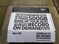 SKY HD BOX, SKY HUB AND ON DEMAND BOX