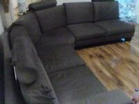 Grey corner sofa can deliver