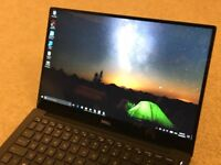 barely used Dell XPS 13 with a QHD infinity touch screen and core i7 processor 8GB RAM 256gb SSD