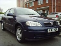 VAUXHALL ASTRA CLUB 1.6 16V ONLY 31,196 MILES HPI CLEAR 100% FULL SERVICE HISTORY