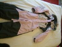 "All in one ""Icepeak"" Ski Suit in pink size 134cm for collection."