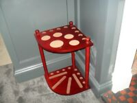 Corner 8 Pool/Snooker Cue Stand