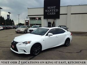 2014 Lexus IS 350 AWD | F-SPORT | NAVIGATION | NO ACCIDENTS