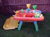 Kids sand/ water pit from ELC Outdoor Activity Fun Create Pit