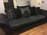 Dfs 4 seater and music cuddler chair