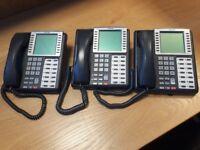 Toshiba DKT3214F-SDL and DKT3512F-SD telephones for sale.
