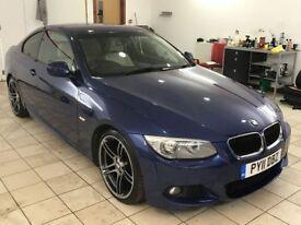 !!61K MILES!! 2011 BMW 320D M-SPORT / MANUAL / COUPE / FULL SERVICE HISTORY / 12 MONTHS MOT