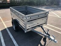 Brand new Brenderup 1205s car box trailer with double side
