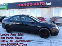 2005 Acura TSX 6 Speed Leather Certified 2 Years Warranty