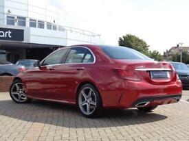 Mercedes-Benz C Class C220 D AMG LINE PREMIUM PLUS (red) 2016-09-02