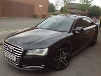 2012 (12 reg) Audi A8L LONG WHEEL BASE fully loaded 3.0 TDI SE Executive Tiptronic Quattro 4dr (LWB)