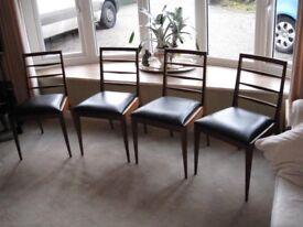 4 mcintosh dining chairs