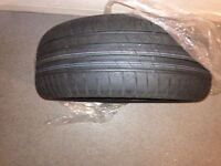 Brand New 215/55r16 93v Goodyear Efficient Grip Performance Tyre fitted on spare wheel cost £100
