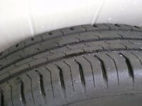 continental tyres 185/65 R 15 H £60 pair nearly new